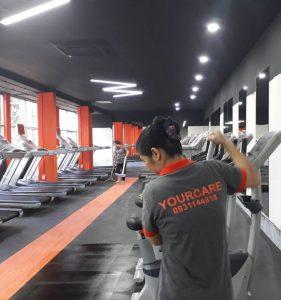 Lau phòng tập Gym