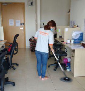 Vệ sinh văn phòng tại Your Care